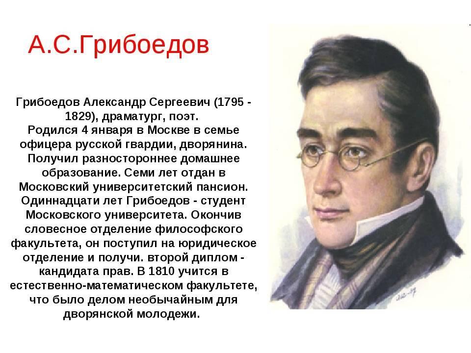 Грибоедов, александр сергеевич | русская литература вики | fandom