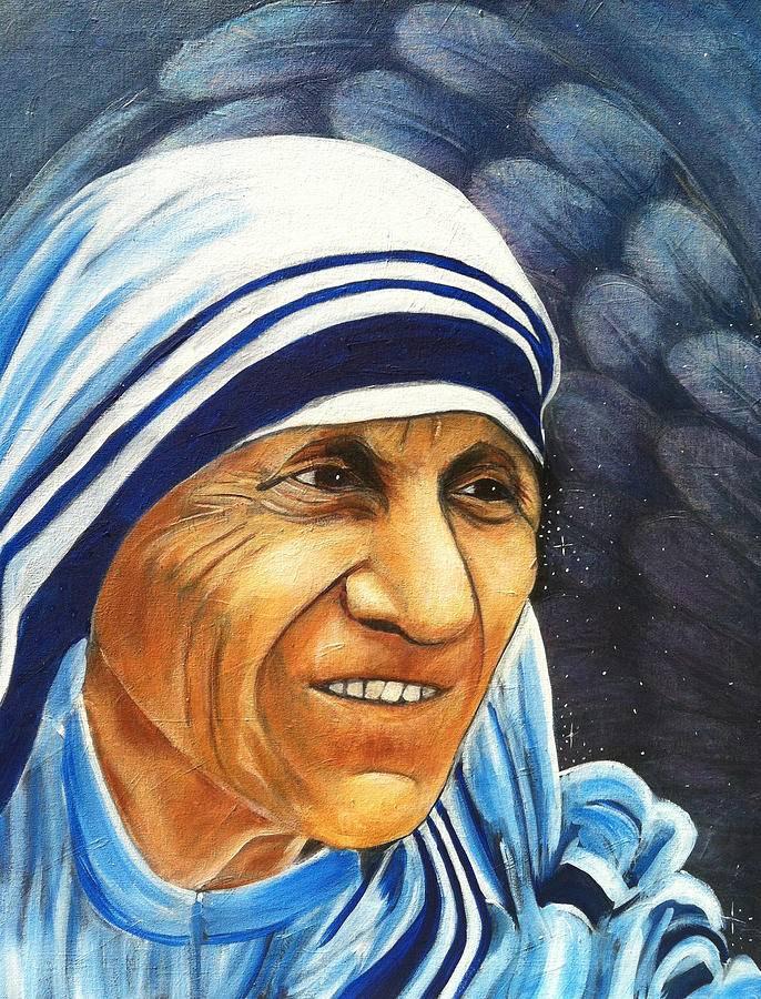 Мать тереза: «я буду то и дело сбегать с небес»