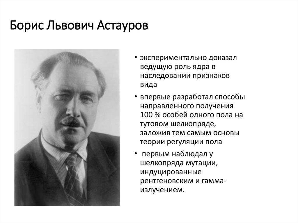 Б.л. астауров - вики