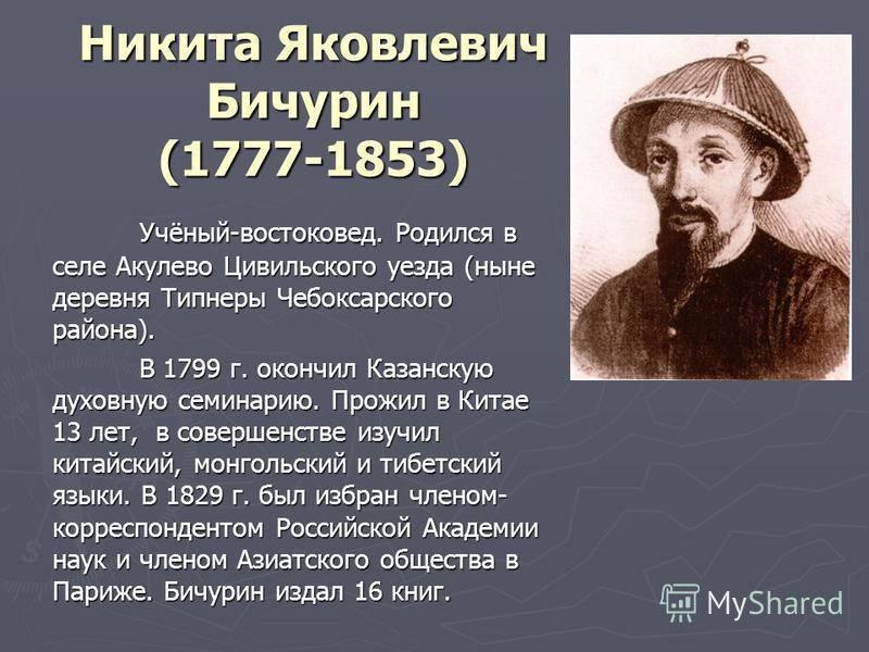 Никита  бичурин -  биография, список книг, отзывы читателей - readly.ru