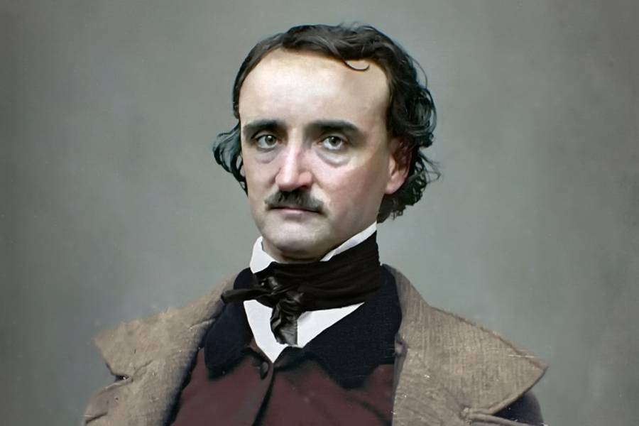Эдгар аллан по биография