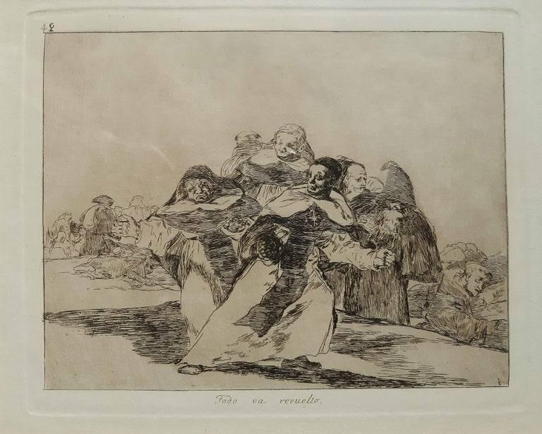 Капричос гойи. неудобная правда о пороках общества   дневник живописи