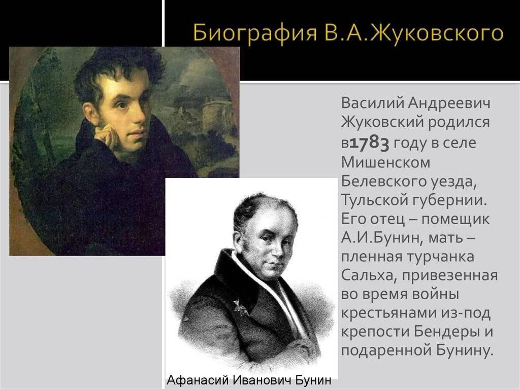 Биография Василия Жуковского