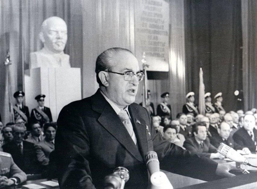 Биография Юрия Андропова