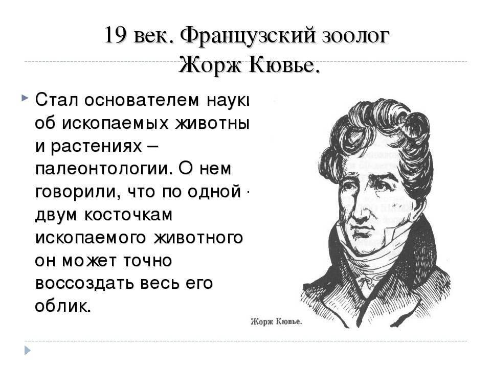 Жорж кювье - вики