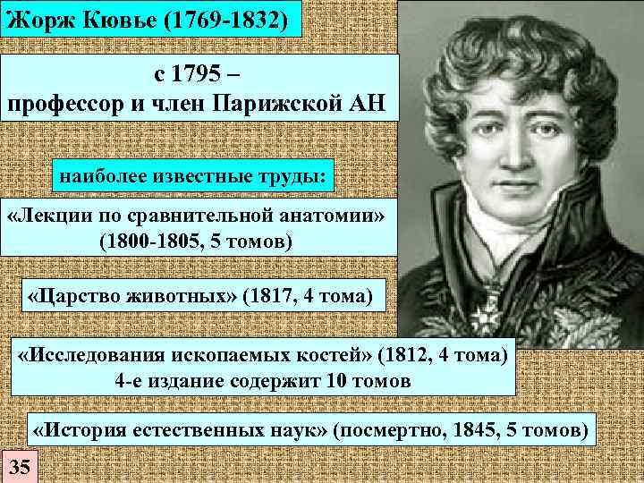 Кювье, жорж леопольд | познание мира