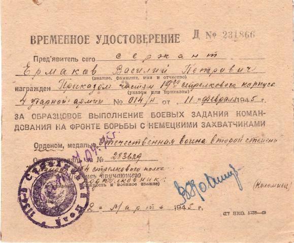 Ермаков, василий петрович - wiki