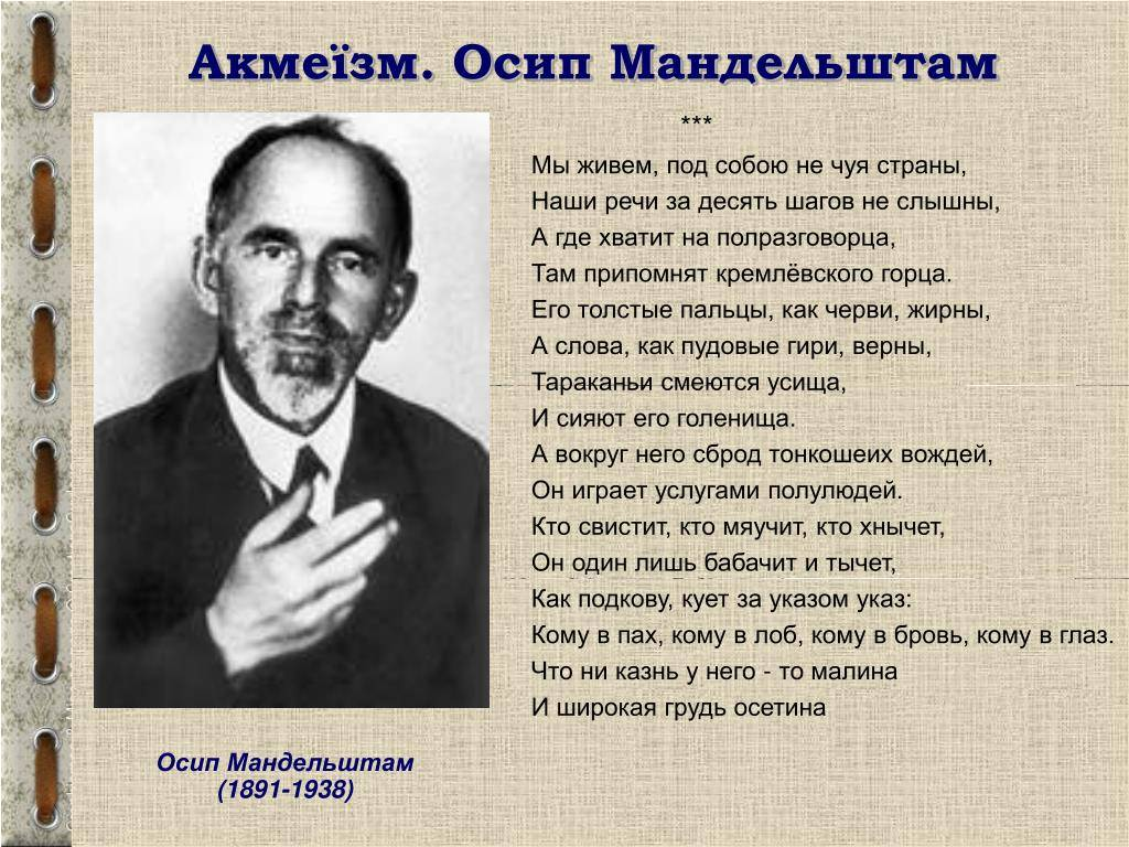 Мандельштам осип эмильевич. 100 знаменитых евреев