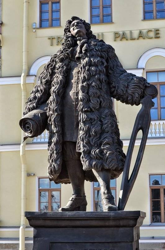Доменико трезини (ок. 1670—1734). 100 великих архитекторов