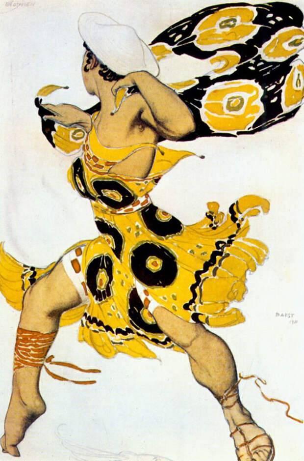 Лев бакст — многогранный талант эпохи модерна