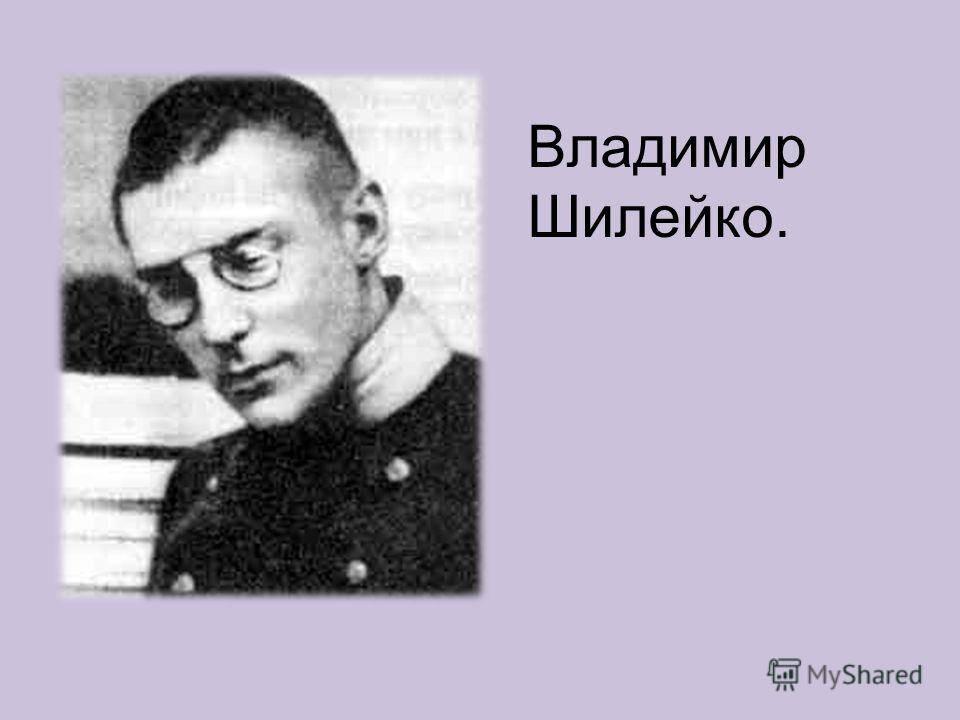 Шилейко, владимир казимирович — википедия