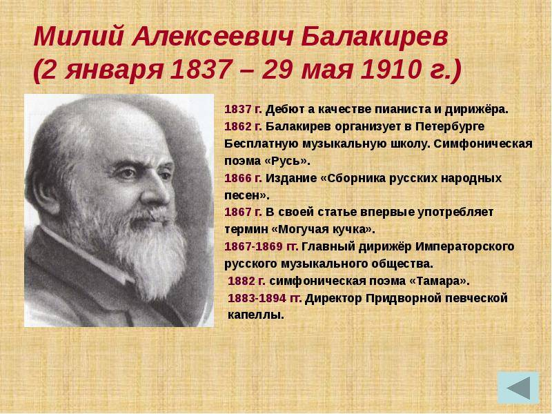 Балакирев, милий алексеевич - вики