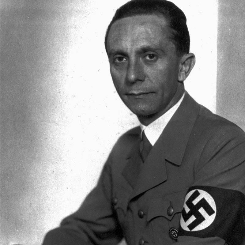 Краткая биография йозефа геббельса -