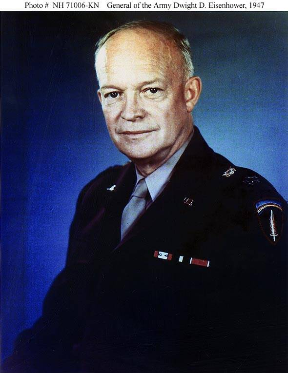 Эйзенхауэр, дуайт давидович — абсурдопедия