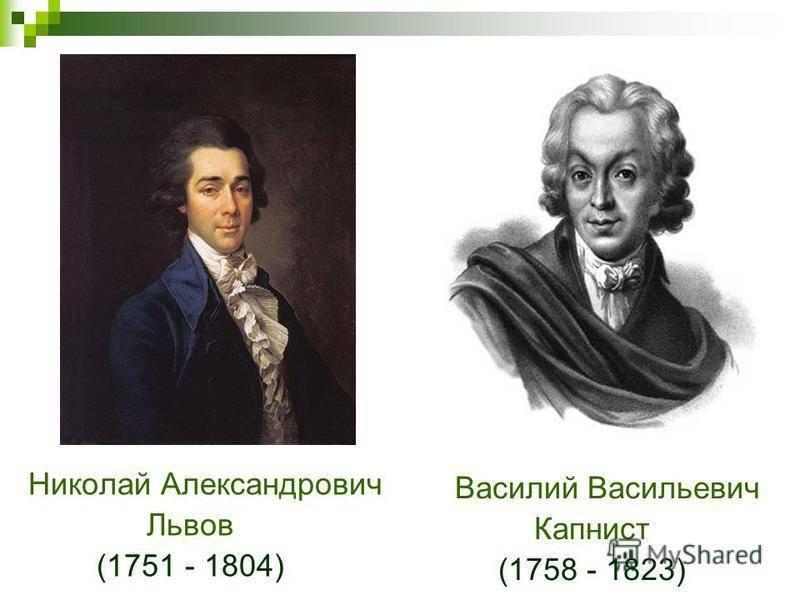 Василий васильевич капнист - вики