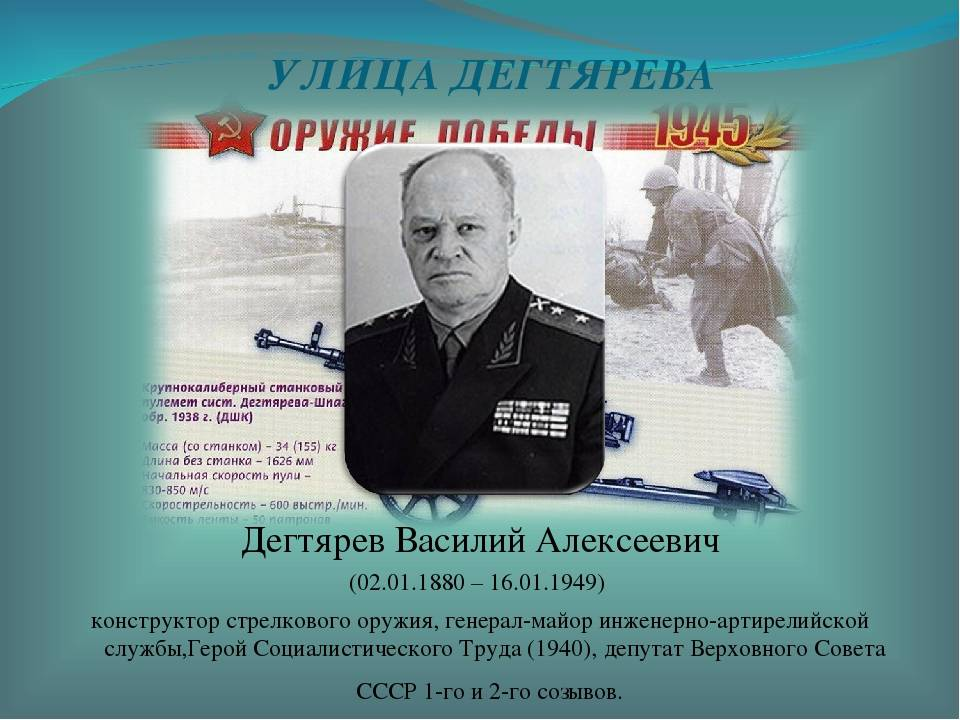 2 января родился оружейник василий дегтярев