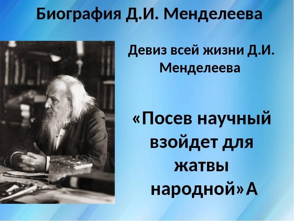 Менделеев дмитрий иванович - биография, новости, фото, дата рождения, пресс-досье. персоналии глобалмск.ру.