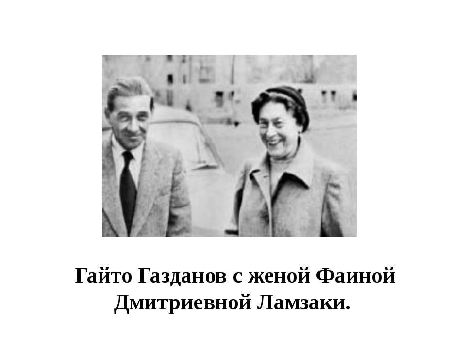 Газданов, гайто — википедия. что такое газданов, гайто