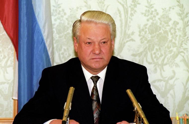 Первый президент россии борис ельцин - история россии
