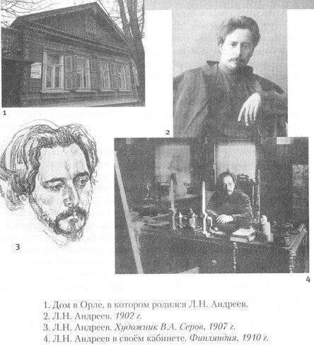 Леонид андреев — краткая биография писателя   краткие биографии