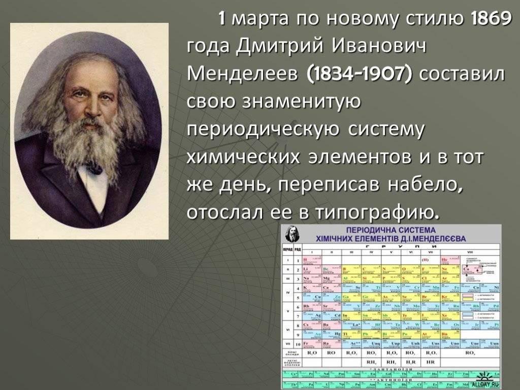 Д. и. менделеев: биография, интересные факты и фото