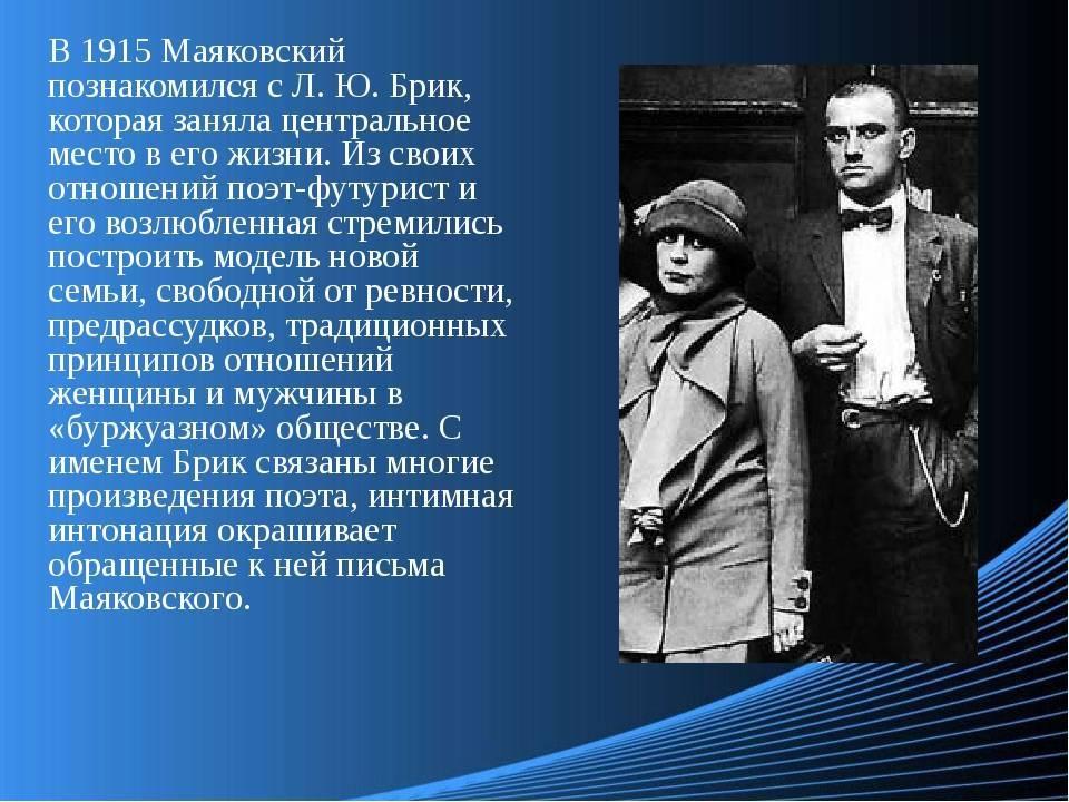 Краткая биография владимира маяковского для школьников 1-11 класса. кратко и только самое главное