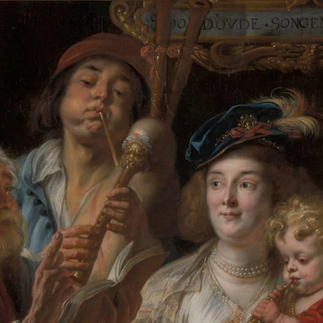 Фламандский живописец якоб йорданс: картины, биография.