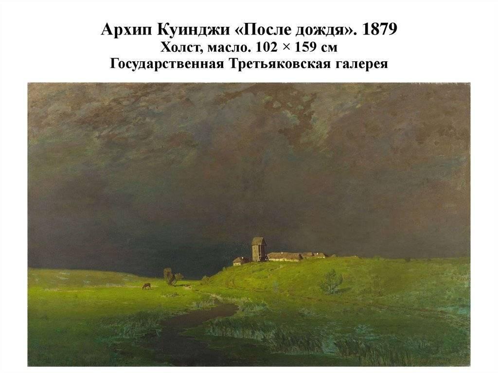 Художник архип куинджи: биография, творчество, благотворительность