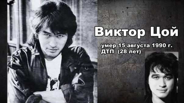 Биография Виктора Цоя