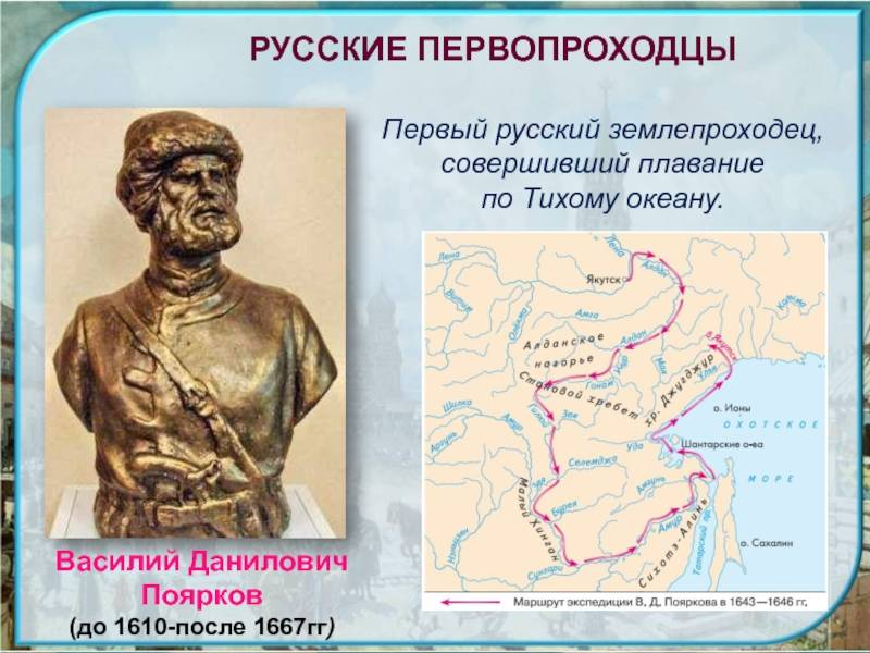 Василий поярков