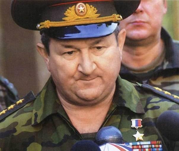 Генерал трошев: биография, фото. как погиб генерал трошев?