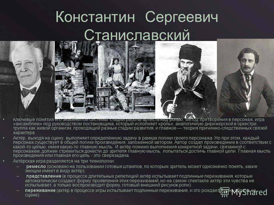 Константин станиславский - биография, факты, фото