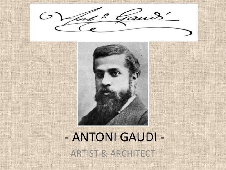 Антонио гауди: краткая биография, работы, достопримечательности в барселоне