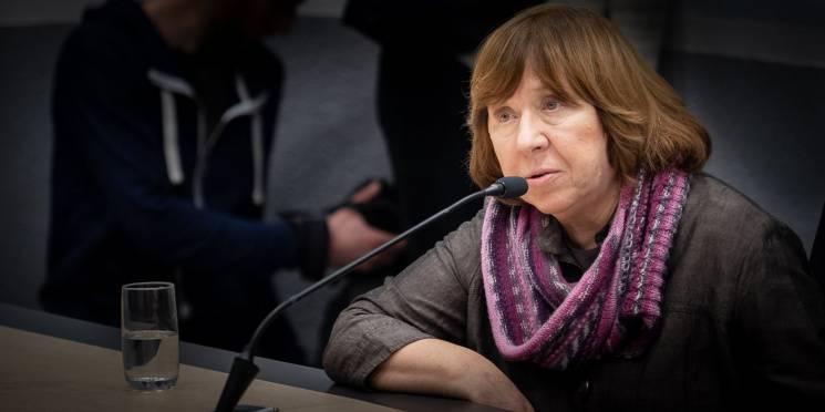 Светлана алексиевич: знайте, сегодня время одиночества | православие и мир