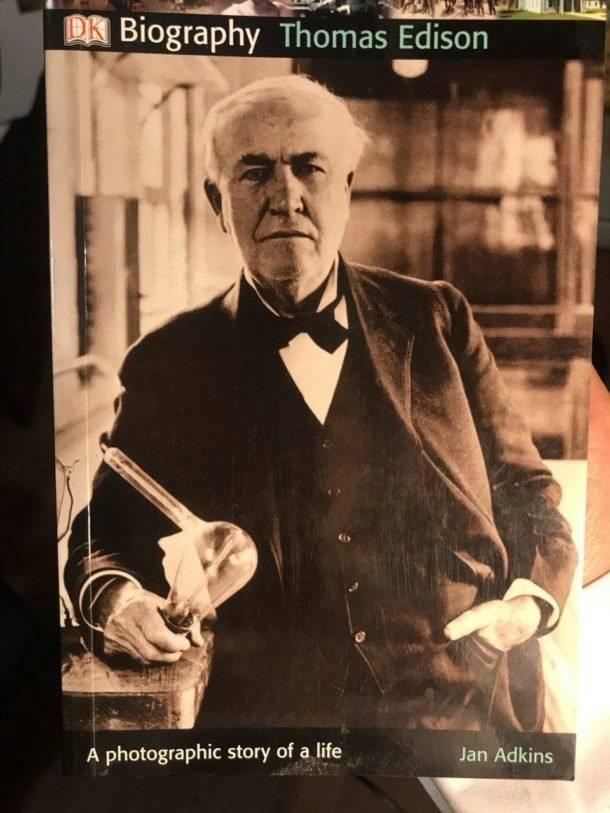 Томас эдисон – самый плодовитый изобретатель всех времен