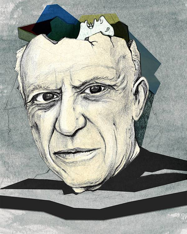 Пабло пикассо - стиль и техника