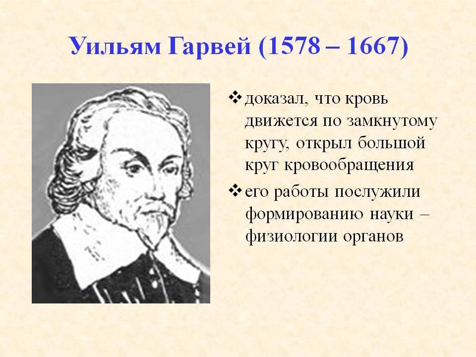 Гарвей вильям