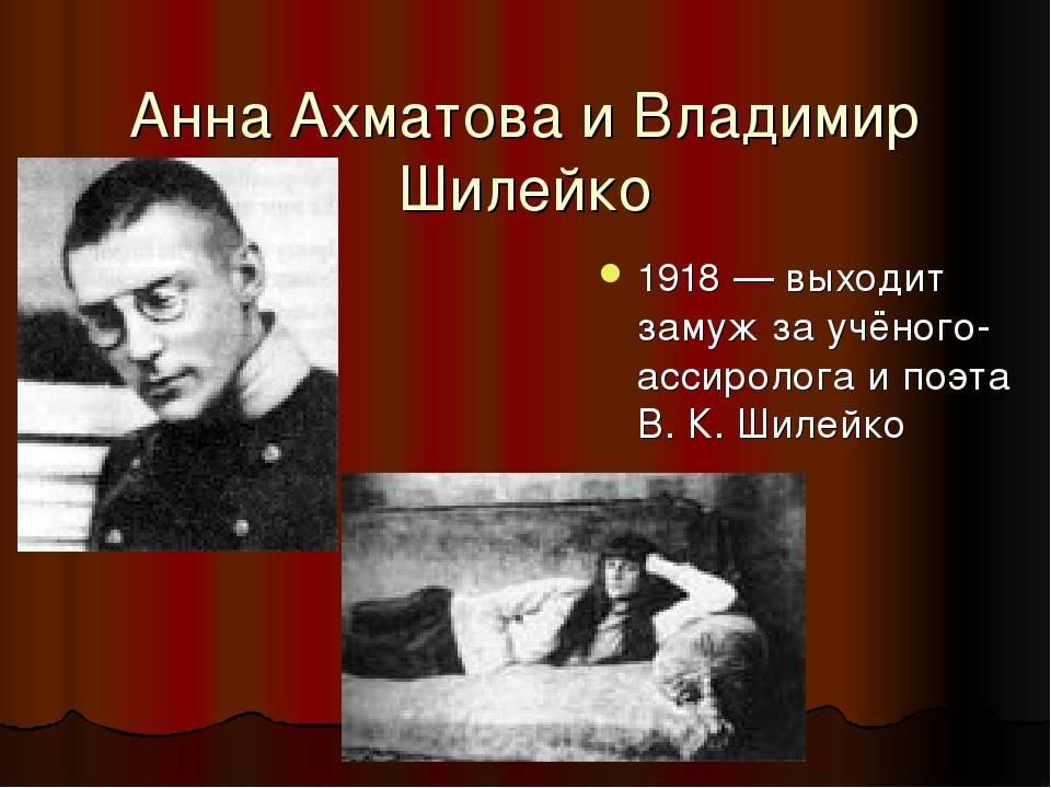 Владимир казимирович шилейко