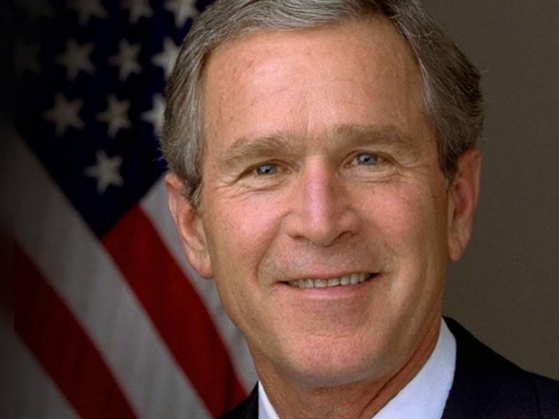 Буш, джордж уокер — википедия
