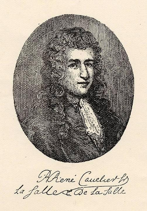 Рене робер кавелье де ла саль (1643–1687). 100 великих путешественников [с иллюстрациями]