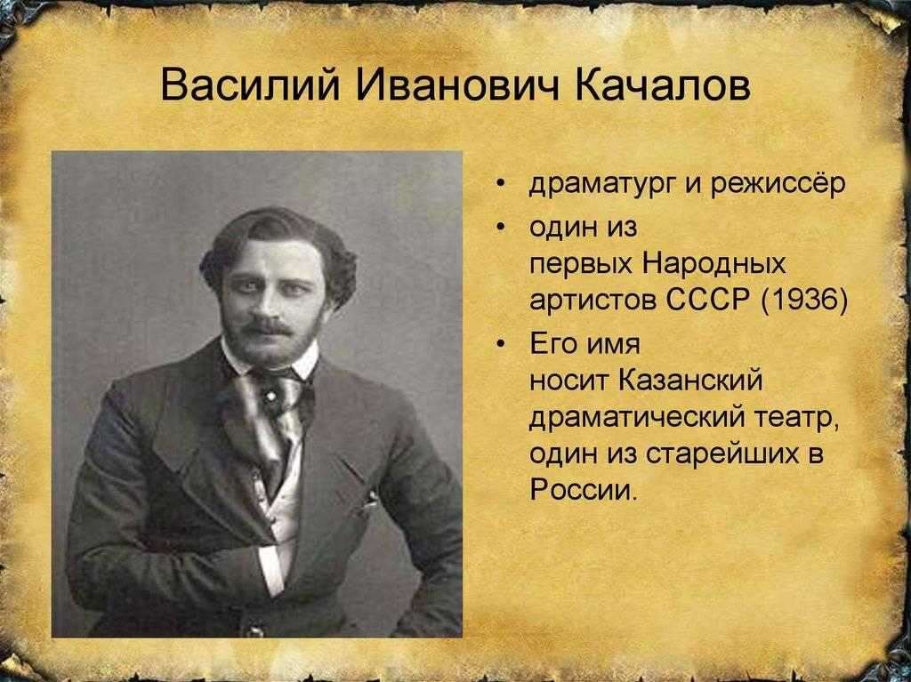 Качалов василий иванович