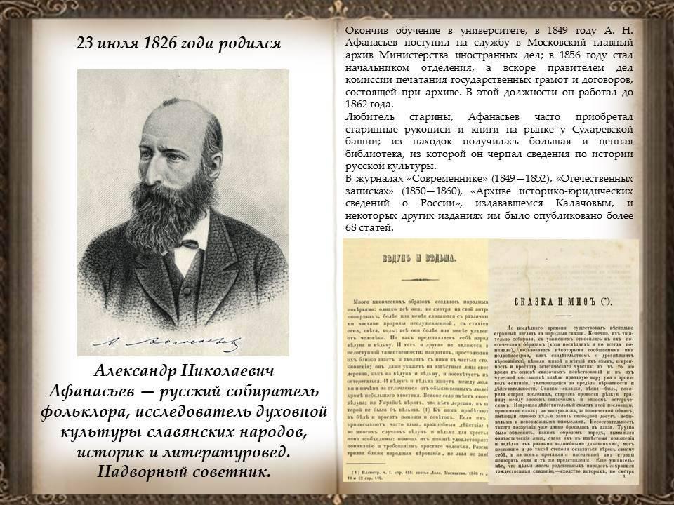 Биография александра афанасьева | краткие биографии