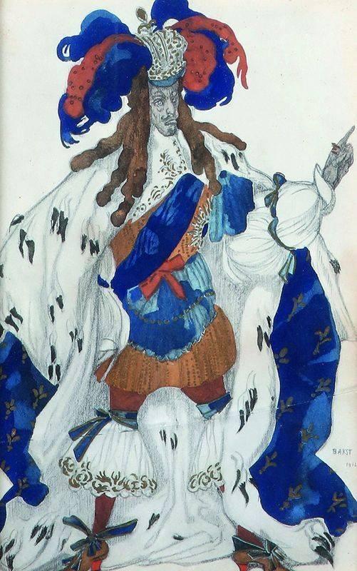 Бакст лев самойлович — галерея произведений (167 изображений).