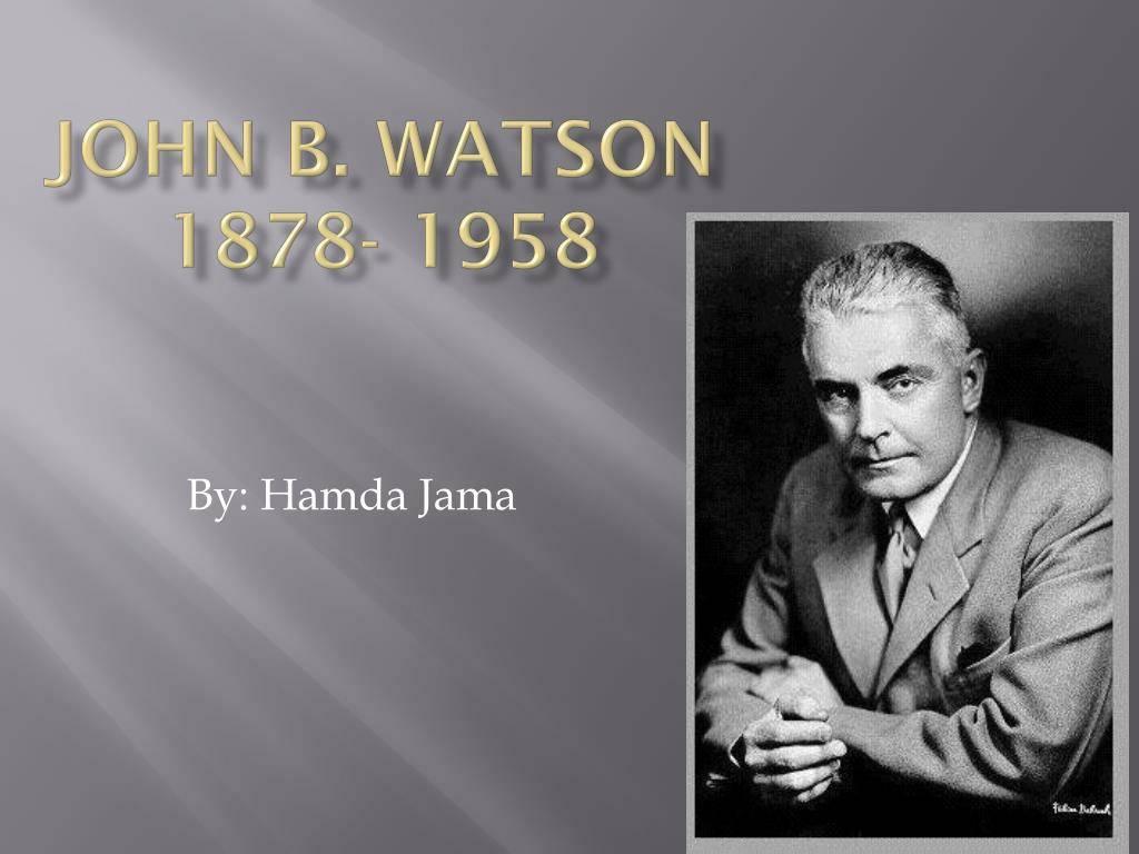 Джон уотсон: биография, фото джона бродеса уотсона