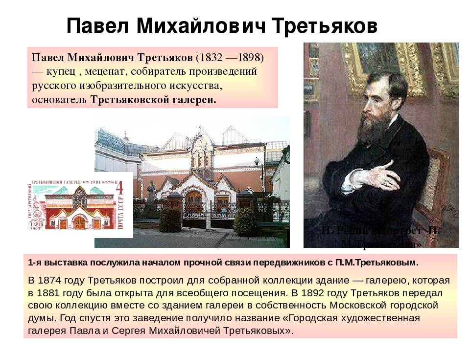 Третьяков, павел михайлович