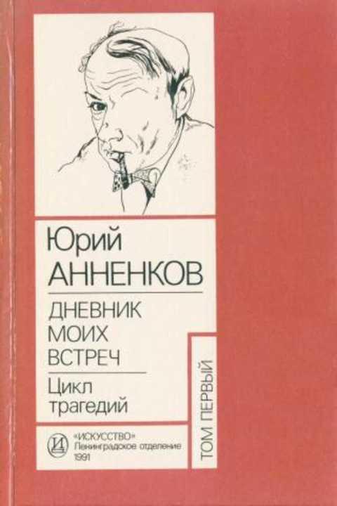 Юрий  анненков. их лица — серебряный век