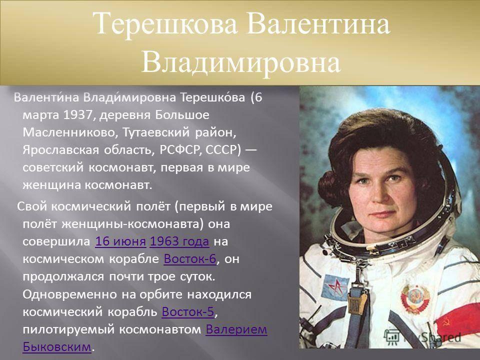 Список космонавтов ссср и россии в хронологическом порядке
