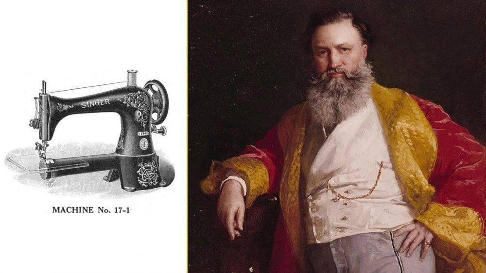 Кто он, исаак зингер, которого все знают как изобретателя швейной машинки