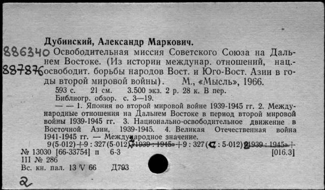 Биография Якова Дубинского
