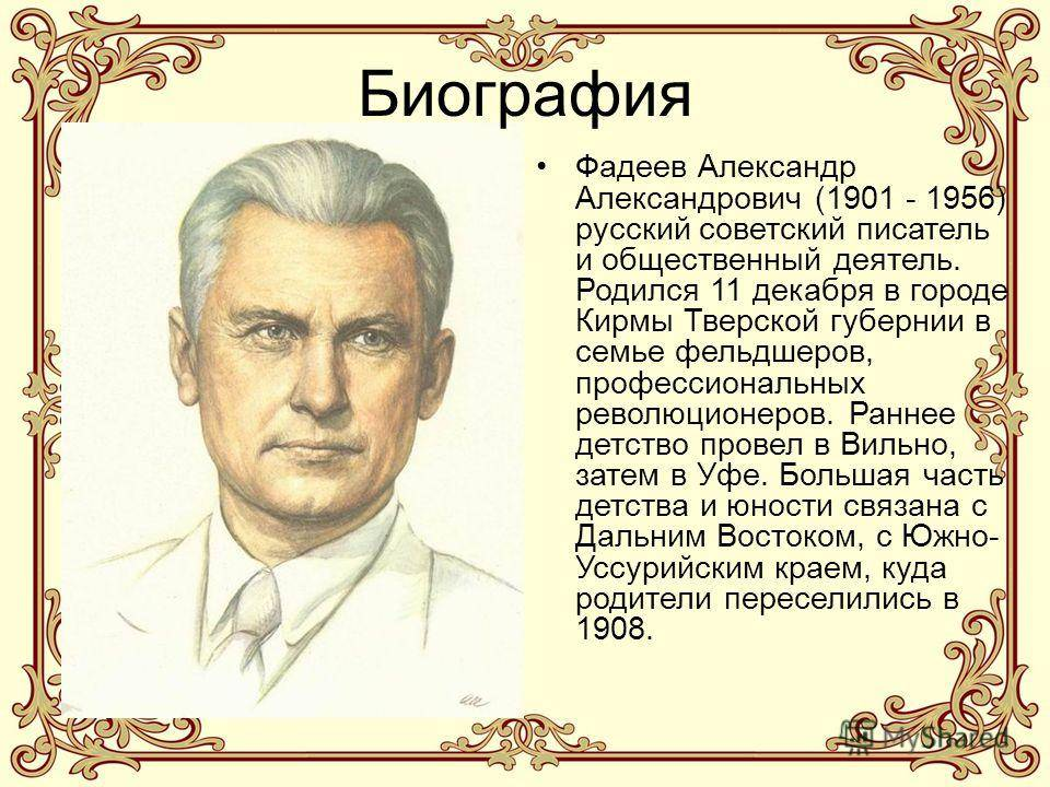 Фадеев Александр Александрович